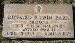 Richard Edwin Barr