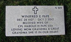Winifred Pape