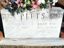 Lillie <I>Ray</I> Pitts