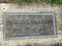 Delilah C <I>Hollenbaugh</I> Anderson