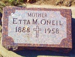 Etta M. <I>Steinbeck</I> O'Neil