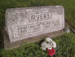 Emma Louella <I>Sanders</I> Myers