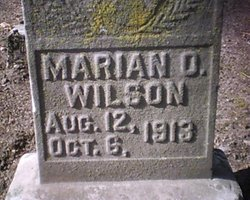 Marian O Wilson