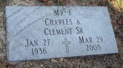 "Charles A ""Mr I"" Clement, Sr"