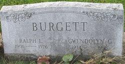 Gwendolyn <I>Gleeten</I> Burgett