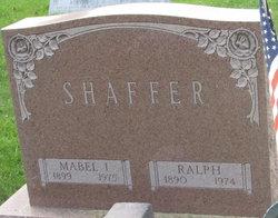 Mabel I Shaffer