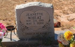 Jeanette Wheat