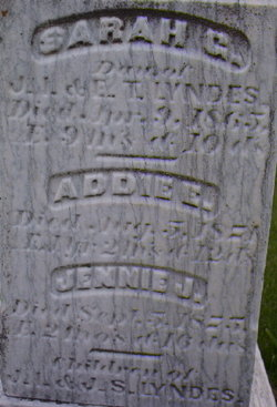 Jennie J Lyndes