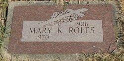 Mary Kinnally Rolfs