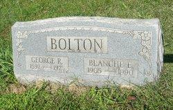 Blanche E <I>Eldridge</I> Bolton