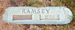 Mary Ann <I>Howell</I> Ramsey