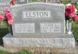 Alice Hariett <I>Mealiff</I> Elston