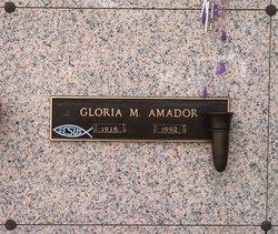 Gloria M. Amador