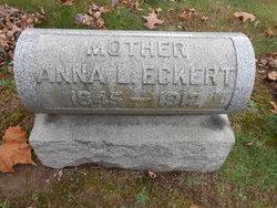 Anna L. <I>Price</I> Eckert