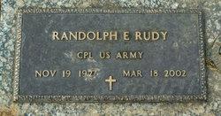 Randolph E Rudy