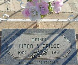 Juana S Griego