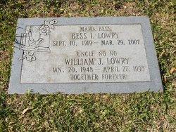 William J Lowry