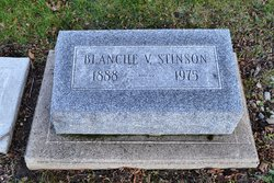 Blanche Virginia <I>Ham</I> Stinson