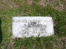 Barbara <I>DuRant</I> Allen