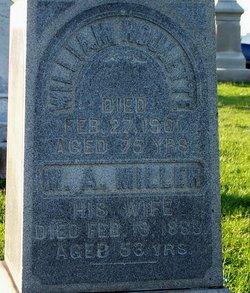 Margaret Ann <I>Miller</I> Roulette
