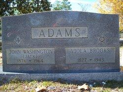 "John Washington ""Jack"" Adams"