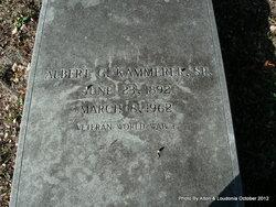Albert Gregor Kammerer, Sr