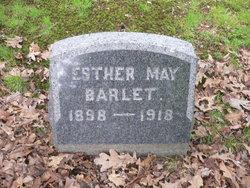 Esther May <I>Schultz</I> Barlet