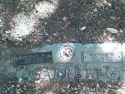 Matthew Woodson Garrett