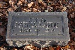 Martha A Akers