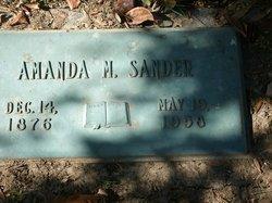 Caroline Marie Amanda Mandy <I>Bleckwendt</I> Sander
