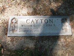 "William Gustaver ""Gus"" Cayton"