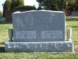 Frances Elizabeth <I>Kuebler</I> Johnson