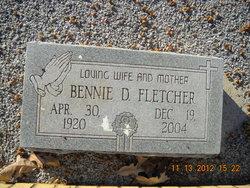 Bennie Mae Edel <I>Daniel</I> Fletcher
