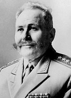 Gen Sergei Matveevich Shtemenko