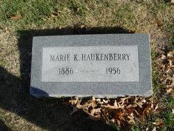 Marie K. <I>Jacobsen</I> Haukenberry
