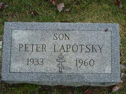 Peter Lapotsky