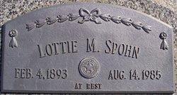 Lottie Malinda <I>Happel</I> Spohn