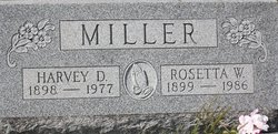 Harvey D Miller