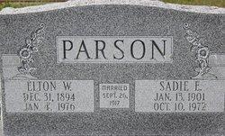 Elton W Parson