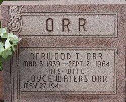 Derwood T Orr