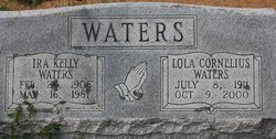 Lola Grace <I>Cornelius</I> Waters