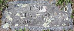 """Ellis J """"Foxie"""" Lake"""