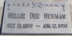 Nellie Dee <I>Wilkinson</I> Newman
