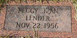 Peggy Jean Lender