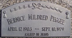 Bernice Mildred Peggee
