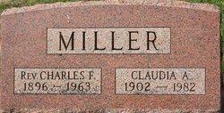 Claudia A Miller
