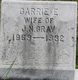 Carrie E <I>Walters</I> Gray