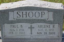 Arlene R <I>Walters</I> Shoop