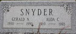 Alda C <I>Murphy</I> Snyder