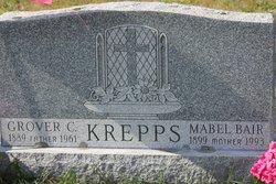 Mabel <I>Bair</I> Krepps